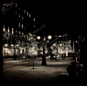 Denver - 16th Street Mall at Christmas